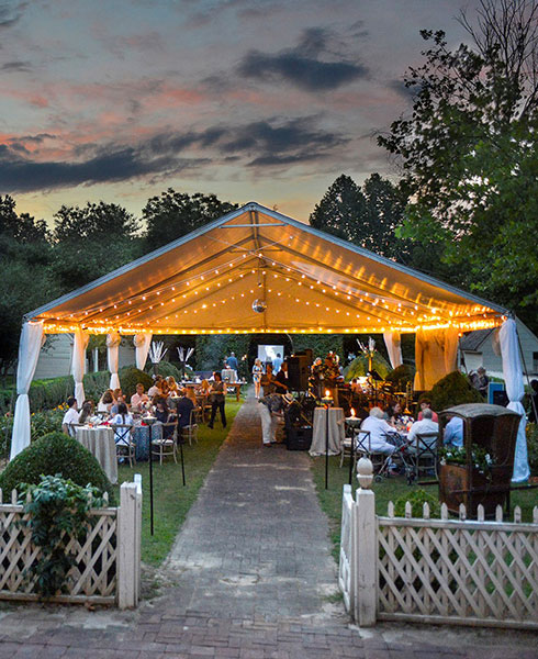 Outdoor Event Tent - INOLA Events Blue Ridge