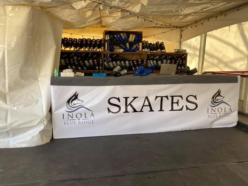 Ice Skating in Blue Ridge Georgia