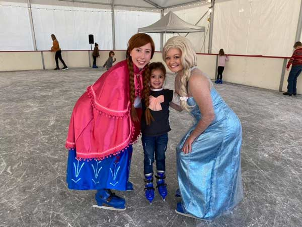 Elsa and Anna Experience