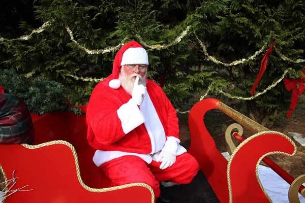 Breakfast with Santa in Blue Ridge GA