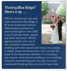 Visit INOLA Blue Ridge during your trip