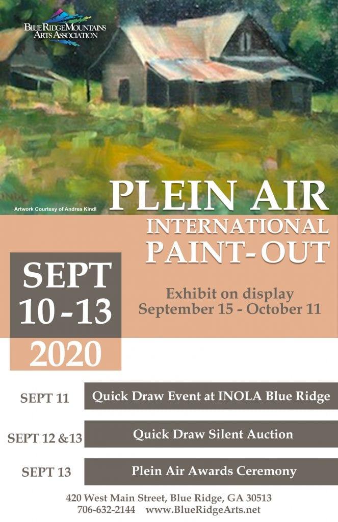 Blue Ridge International Paint Out