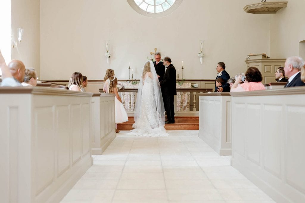 Classic Blue Ridge Wedding