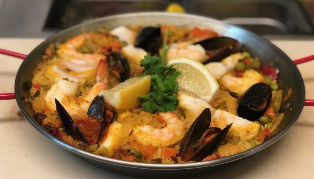 Paella Grab and Stroll Dinners at INOLA Blue Ridge