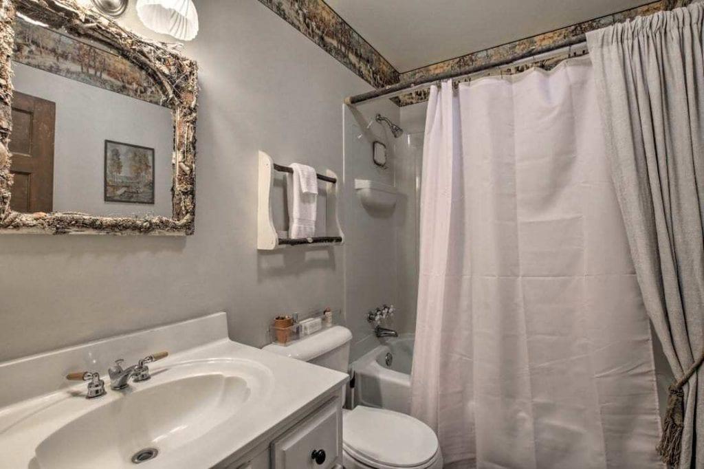 Appalachian Cottage Bathroom