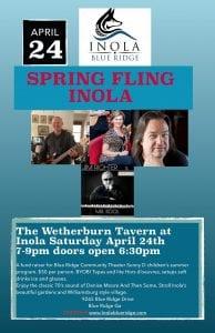 INOLA Spring Fling Apr 24