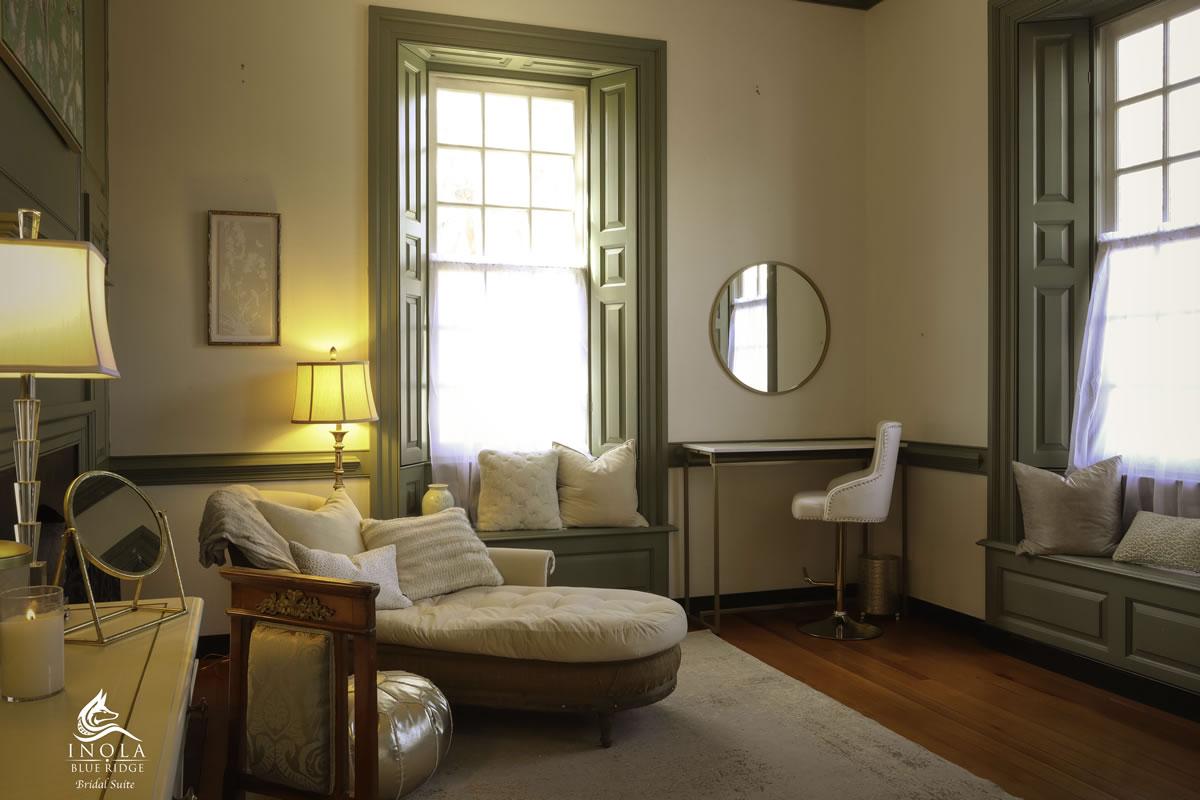 Bridal Suite in Blue Ridge at INOLA